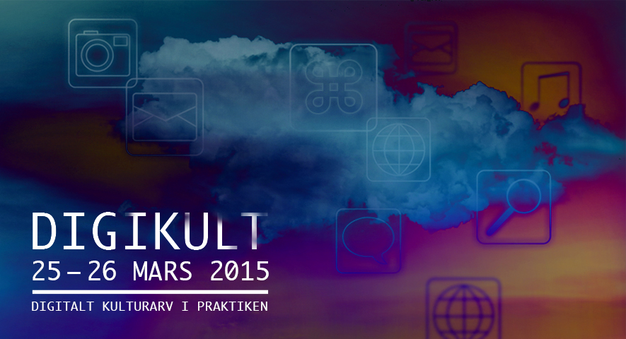 Illustration för konferensen Digikult 2015, av Digikult